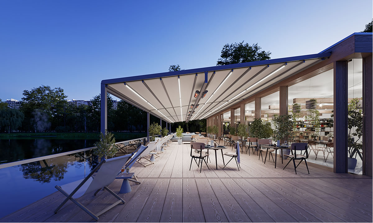 markilux pergola stretch